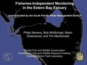 Fish survey in Estero Bay