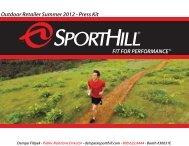 SportHill Summer OR 2012 Press Kit - GoExpo