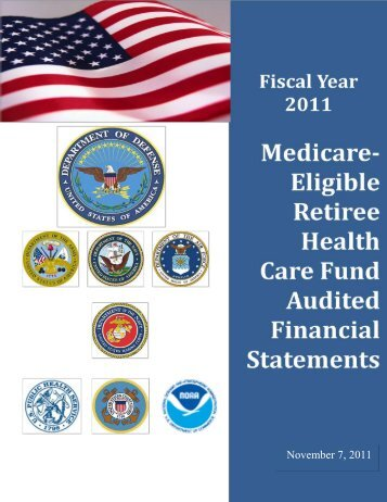 Fiscal Year 2011 Medicare Eligible Retiree Health Care Fund ...