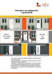 Yderdøre og sidepartier i specialmål - Bauhaus