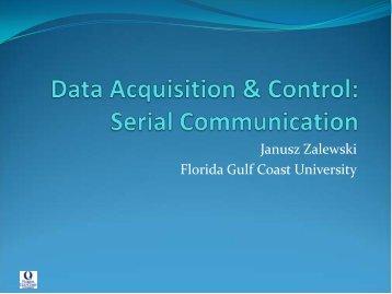 Serial Communications - Florida Gulf Coast University