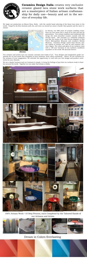Ceramica Design Products and Artisan Production - GoExpo