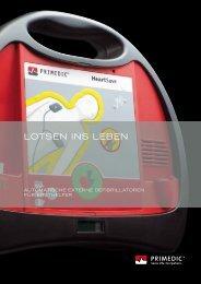 Produktinformation PRIMEDIC TM HeartSave (PDF ... - Metrax GmbH
