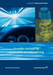 Grundfos koncept för elektronisk varvtalsreglering
