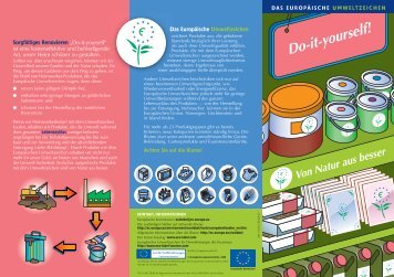 Heimwerkerbedarf - Ecolabel