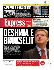 NJEREZIT E PRESIDENTIT - Gazeta Express
