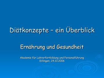 Folie 1 - Akademie für Lehrerfortbildung und Personalführung ...