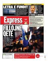 LETRA E FUNDIT - Gazeta Express