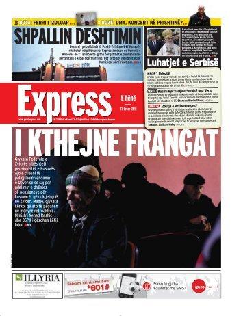 SHPALLIN DESHTIMIN - Gazeta Express