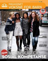 Magasinet Voksne for Barn 04/2011