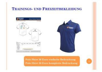 Katalog 2013 Freizeitbekleidung