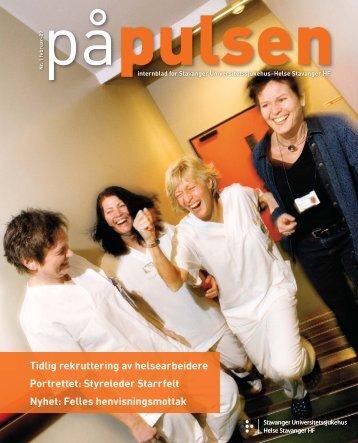 På Pulsen nr. 1 2009 - Helse Stavanger