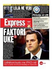 LOJA NE VERI - Gazeta Express