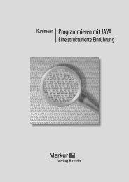 Kuhlmann Programmieren mit JAVA