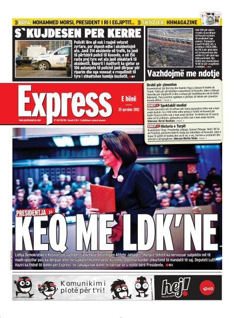 S`KUJDESEN PER KERRE - Gazeta Express