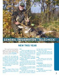general informa tion - Kentucky Department of Fish and Wildlife ...