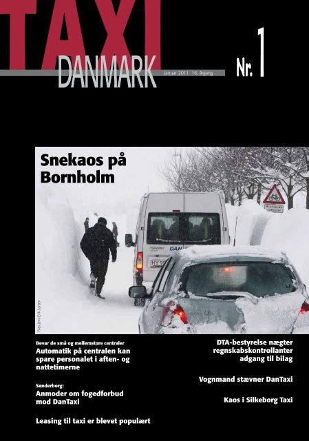 Snekaos på Bornholm - TaxiDanmark