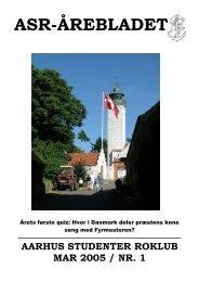 Årebladet 05.1 (fylder 2.94mb) - ASR - Aarhus Studenter Roklub