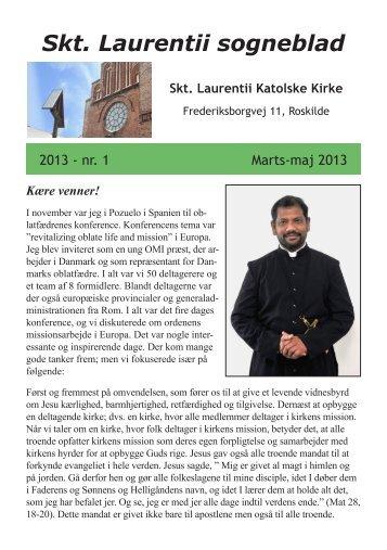 Sogneblad 2013-1 - Sankt Laurentii Kirke