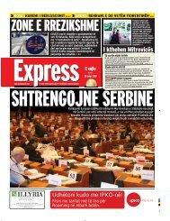 ZONE E RREZIKSHME - Gazeta Express