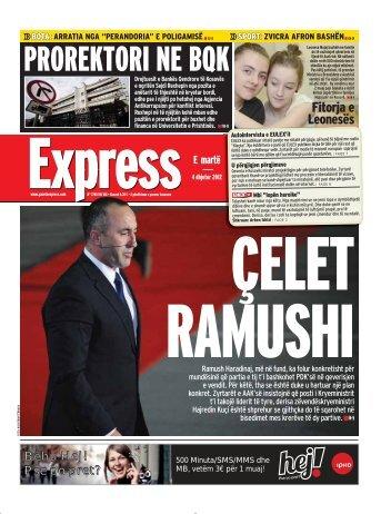 PROREKTORI NE BQK - Gazeta Express
