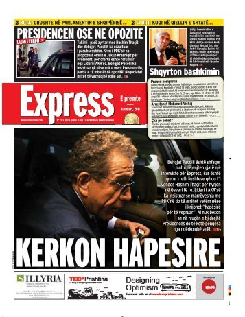 PRESIDENCEN OSE NE OPOZITE - Gazeta Express