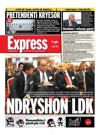 Hashimi i refuzon paret - Gazeta Express