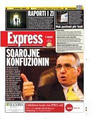 RAPORTI I ZI - Gazeta Express