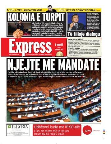 KOLONIA E TURPIT - Gazeta Express