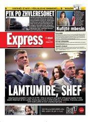 PTK PO ZHVLERESOHET - Gazeta Express