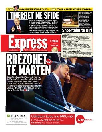 I THERRET NE SFIDE - Gazeta Express