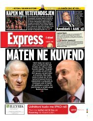 KAPEN ME VETEVENDOSJEN - Gazeta Express