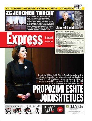 ZGJEROHEN TURQIT - Gazeta Express