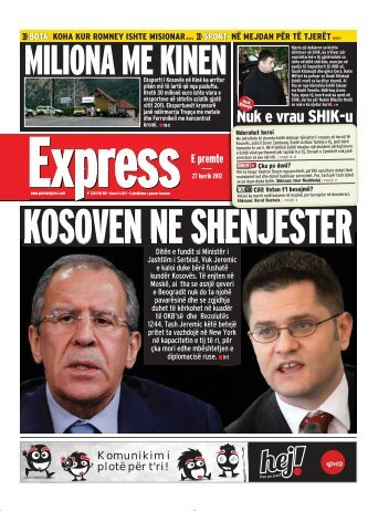 MILIONA ME KINEN - Gazeta Express