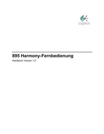 895 Harmony-Fernbedienung - Harmony Remotes