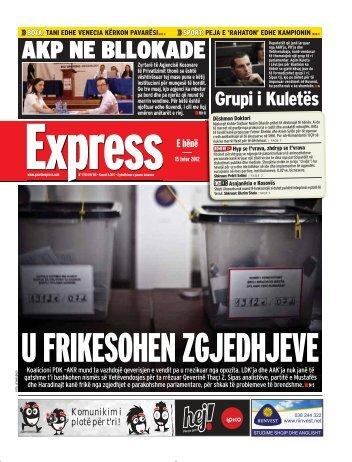 AKP NE BLLOKADE - Gazeta Express