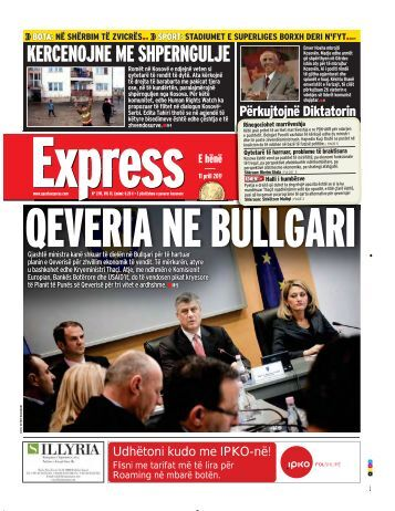 KERCENOJNE ME SHPERNGULJE - Gazeta Express