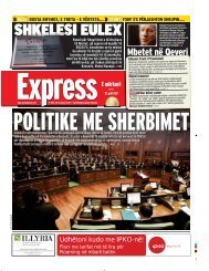 SHKELESI EULEX - Gazeta Express