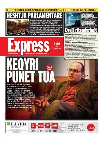 HESHTJA PARLAMENTARE - Gazeta Express