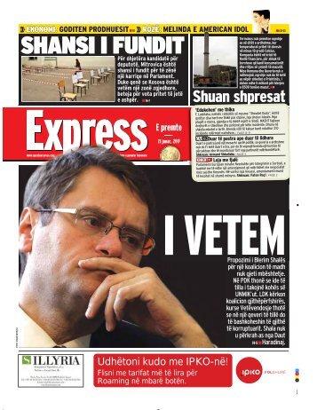 SHANSI I FUNDIT - Gazeta Express