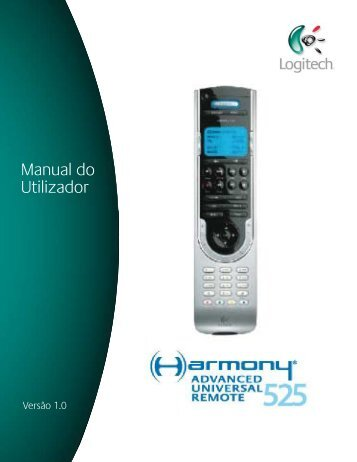 Manual de Utilizador Manual do Utilizador - Harmony Remote