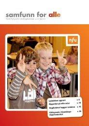 Her kan du lese Samfunn for alle nr. 5 2010 - NFU