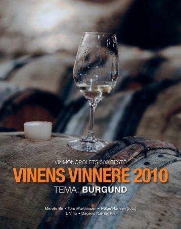 VINENS VINNERE 2010 - Vinens Vinnere 2011