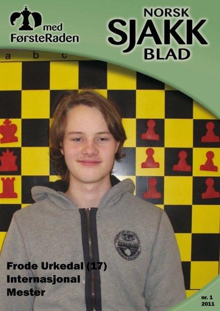 Frode Urkedal (17) Internasjonal Mester