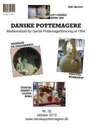 2012 - Medlemsblad nr. 32 - Pottemagere   Keramiker