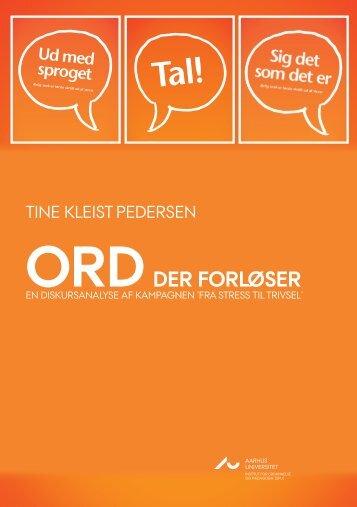 Ordder forløser - Institut for Uddannelse og Pædagogik (DPU ...