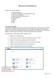 Manual til www.AdminSystem.dk - Hogrefe.dk