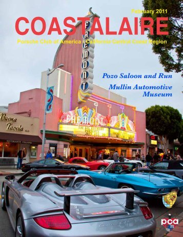 February - California Central Coast - Porsche Club of America
