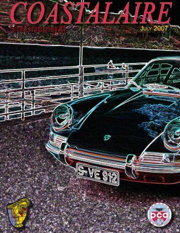 JULY 2007 - California Central Coast - Porsche Club of America