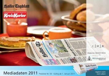 Mediadaten 2011 Preisliste Nr. 50 · Gültig ab 1. Januar 2011